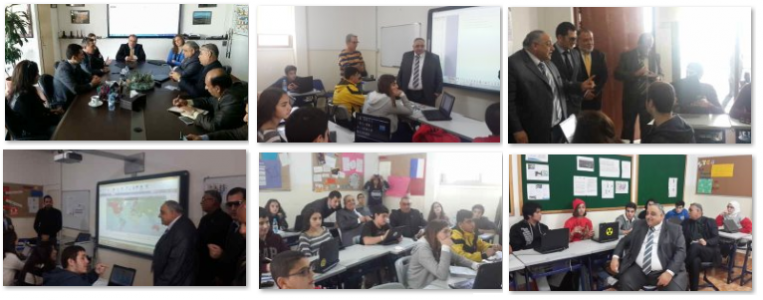 Iraq MOE Visit to German School in Lebanon